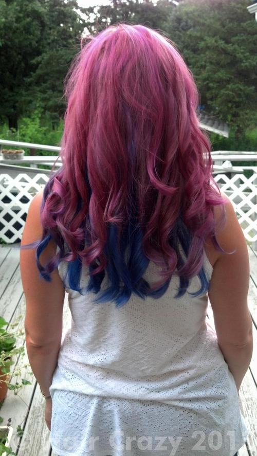 Natreerose using Crimson Storm, Manic Panic Purple Haze, Not So Shy Violet - 23rd July 2013 4:05 p.m.