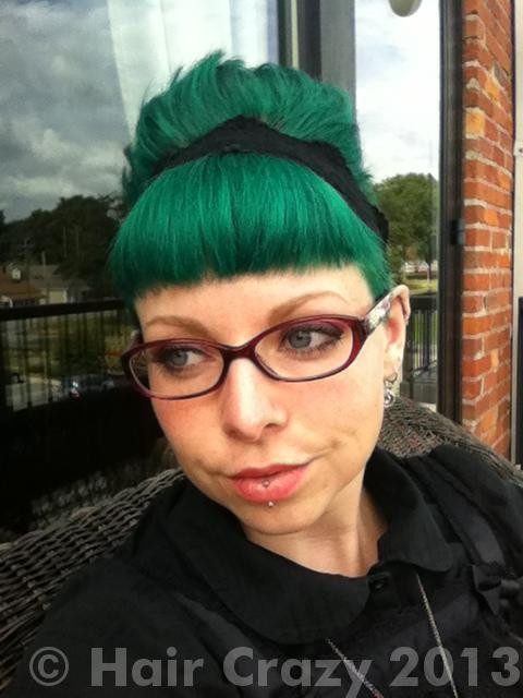 coeur using Manic Panic Green Envy - 16th August 2013 4:22 p.m.