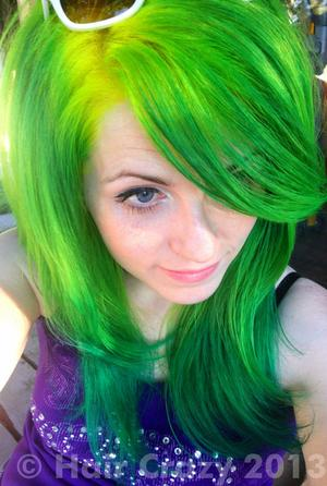 urs -   - -   - Electric Banana   - Green (Pravana)