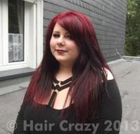 LadyLeighis's hair September 2013