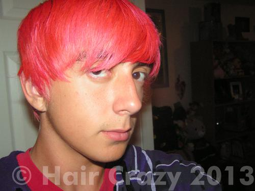 Neal_Z using Manic Panic Red Passion - 11th December 2013 8:27 p.m.