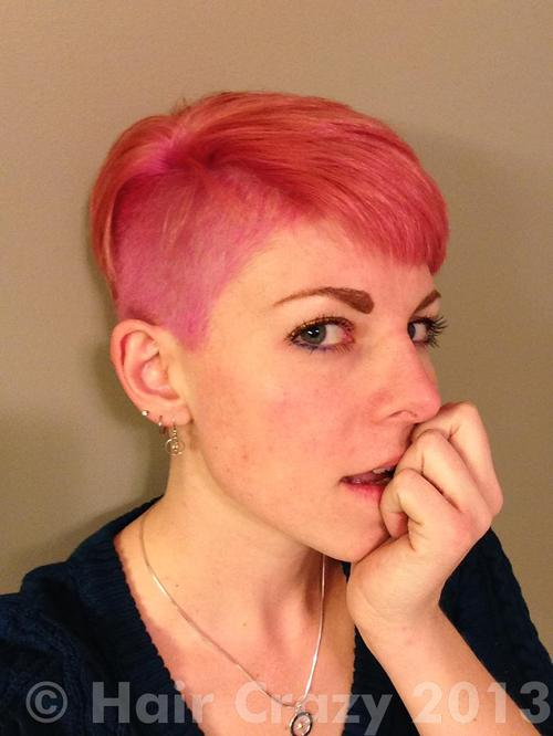 coeur using Manic Panic Cotton Candy Pink - 13th December 2013 3:12 a.m.