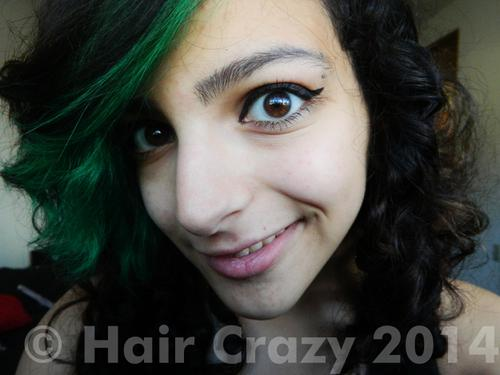 unconsciousfiend using Manic Panic Atomic Turquoise - 8th November 2013 5:26 a.m.