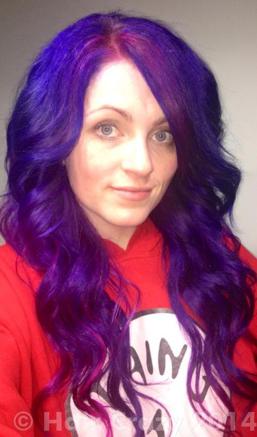 urs using -, Manic Panic Hot Hot Pink, Pravana Violet, Special Effects Cherry Bomb - 18th January 2014 4:16 a.m.