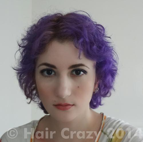 Letivy using Manic Panic Violet Night - 10th February 2014 11:04 a.m.