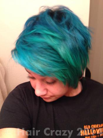 SPrainbow using -, Manic Panic After Midnight Blue - 4th January 2014 9:43 a.m.