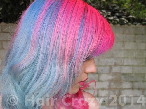 chisailuver using Bad Boy Blue, Manic Panic Hot Hot Pink - 14th January 2012 4:34 p.m.