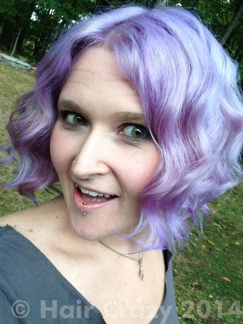 whimsical using Manic Panic Ultra Violet - 13th September 2014 3:52 p.m.