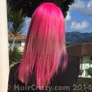 JaneaMarie -   - Cotton Candy Pink   - Hot Hot Pink