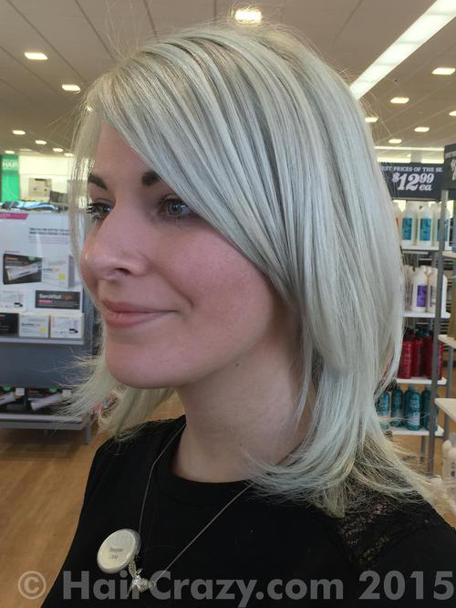 Lane using Pravana Silver - 6th January 2015 1:47 p.m.