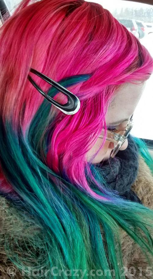 moonqueen using Manic Panic Atomic Turquoise - 18th February 2015 12:45 p.m.