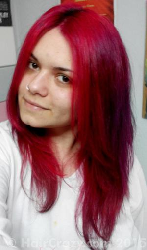 Zoe_nwobhm -   - Hot Pink (Adore)   - Nuclear Red   - Rose Red