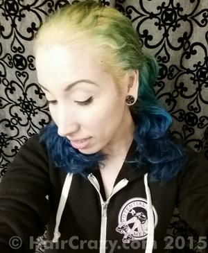 thetydoll -   - Lagoon Blue (Punky)   - Natural (No Product Used)   - Turquoise (Punky)   - Violet (Punky)
