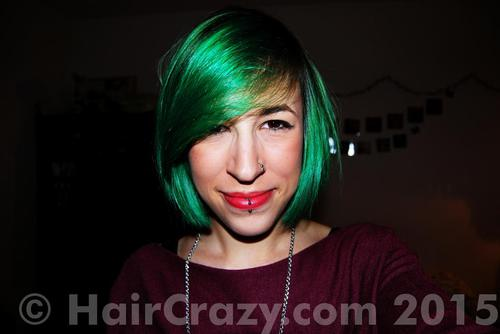 Photo of Crazy Color Emerald Green