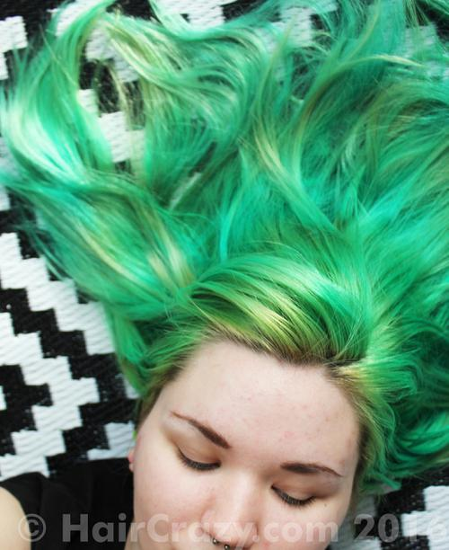 sushihest using Manic Panic Green Envy - 14th March 2016 1:48 p.m.