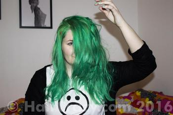 sushihest using Manic Panic Green Envy - 24th February 2016 3:56 p.m.