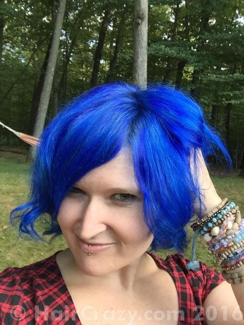 whimsical using Manic Panic After Midnight Blue - 28th August 2015 6:09 p.m.