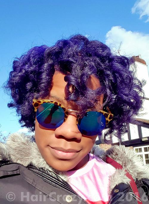 Powerpuff_Nix using Adore African Violet, Adore Purple Rage, Adore Rich Eggplant - 29th April 2016 6:04 p.m.
