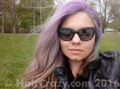 Zoe_nwobhm using Adore Purple Rage, Directions Rose Red - 2nd July 2016 11:10 a.m.