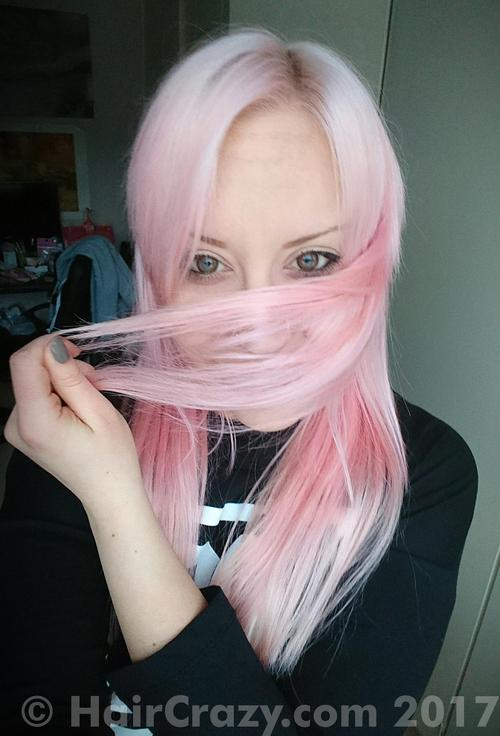 Nunuify using Crazy Color Pinkissimo - 13th January 2017 1:19 p.m.