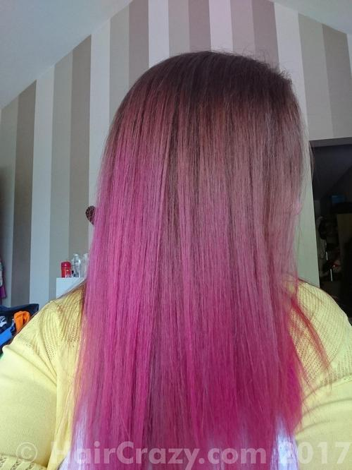 LiseBrown using Crazy Color Pinkissimo - 6th August 2016 12:46 p.m.