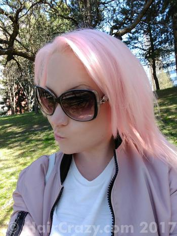 Nunuify using Crazy Color Hot Purple, Crazy Color Pinkissimo, Manic Panic Cotton Candy Pink - 16th May 2017 4:45 p.m.