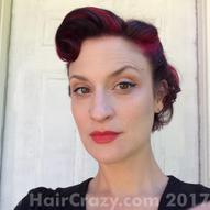 Dizzinea's hair May 2017