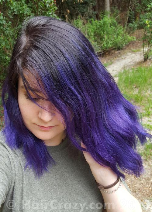 R-394 using Manic Panic Ultra Violet - 1st June 2017 9:18 p.m.
