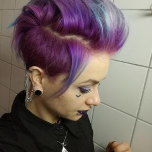 Goth Hair Photos