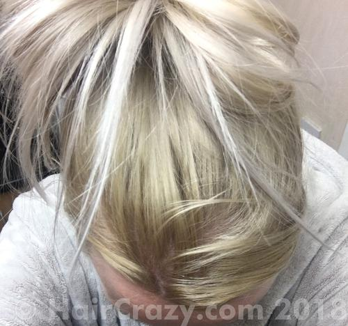 Jenbabe2682 using Color Charm - T18 Lightest Ash Blonde - 4th February 2018 10:03 a.m.