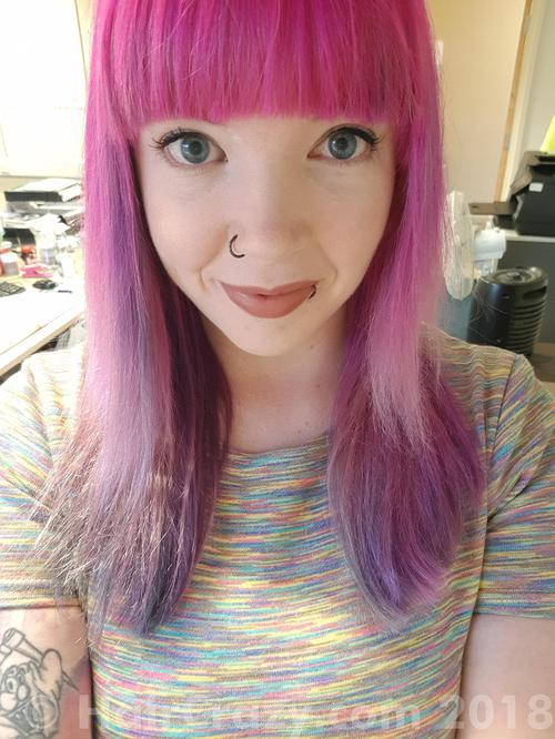 deedeesaysraaa using Manic Panic Hot Hot Pink, other (not listed) - 12th April 2018 7:25 a.m.