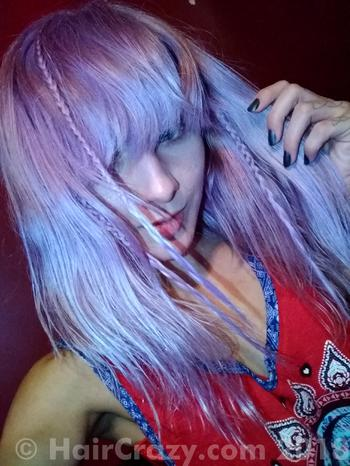 Konekojiemi using Manic Panic Ultra Violet - 19th September 2018 10:53 p.m.