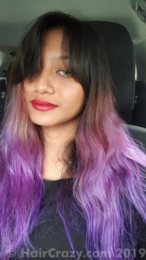 junoinferna using Pravana Violet, Pravana Wild Orchid - 7th April 2019 10:15 a.m.