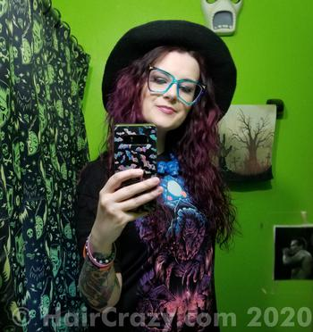 livingdeadgirlnicole using Arctic Fox - Purple Rain - 5th September 2020 1:17 p.m.