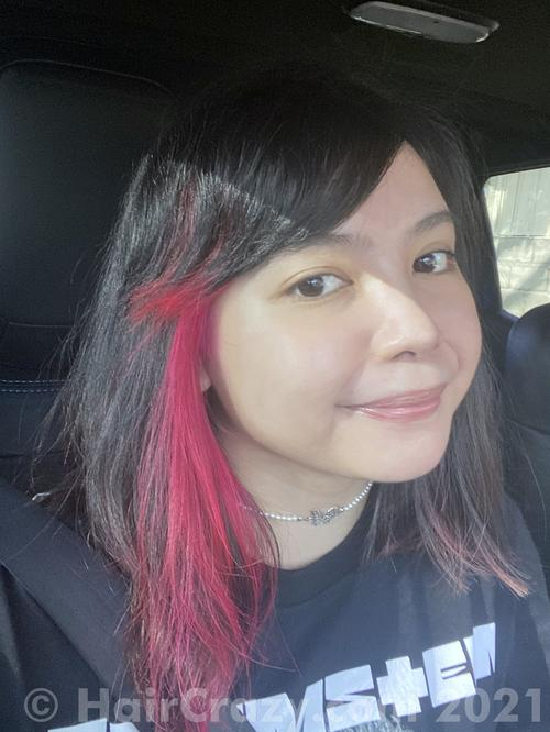 archmagevero using Manic Panic Hot Hot Pink - 30th January 2021 12:31 a.m.