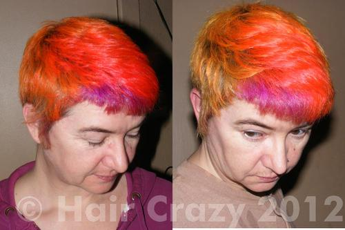 themouce before and after pictures from vitamin C treatment
