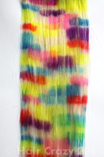 Pravana Locked-In colours have not bled after washing with shampoo.