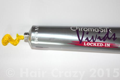 Pravana Locked-In has a clear gel consistency which means the colour doesn't bleed.