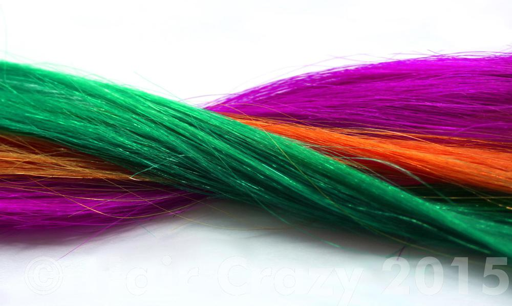 Purple, Orange and Green are also a triadic colour harmony