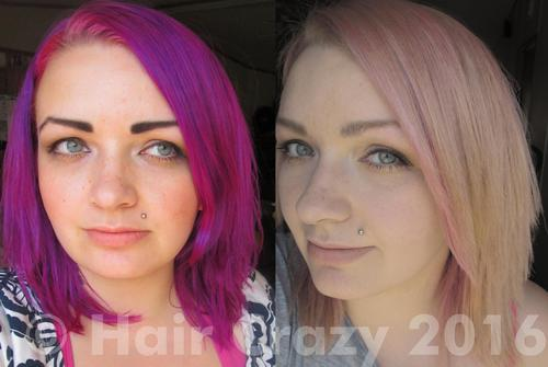 Removing stubborn Pravana and Special Effects colours