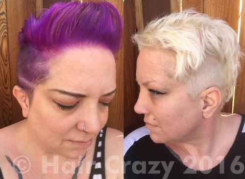 Using a combination of shampoo soaks and bleach, I was able to completely remove Pravana Violet & Wild Orchid